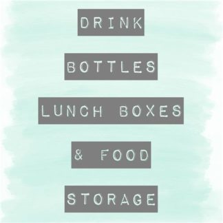 Drink Bottles, Lunch Boxes & Food Storage