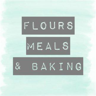 Flours, Meals & Baking