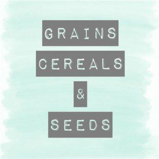 Grains, Cereals & Seeds