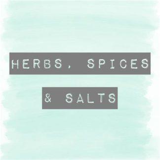 Herbs Spices & Salt