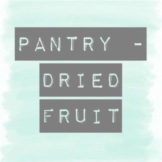Dried Fruit Pantry