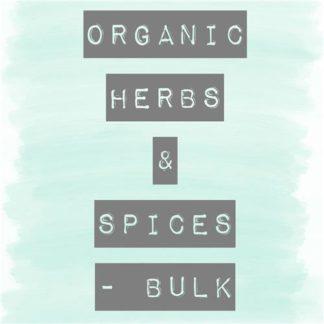 Herbs & Spices Organic Bulk