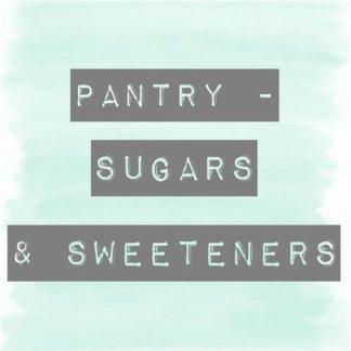 Pantry - Sugars & Sweeteners