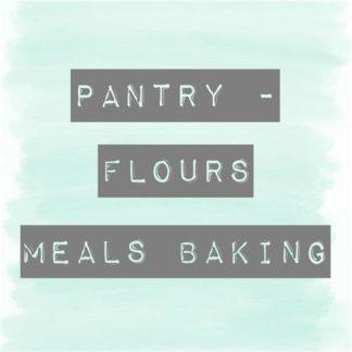 Baking, Flours & Meals Pantry