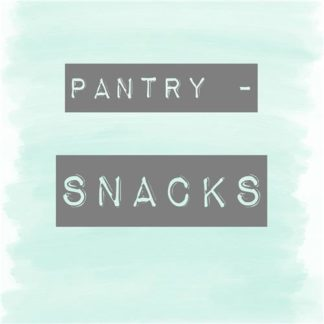 Pantry - Snacks